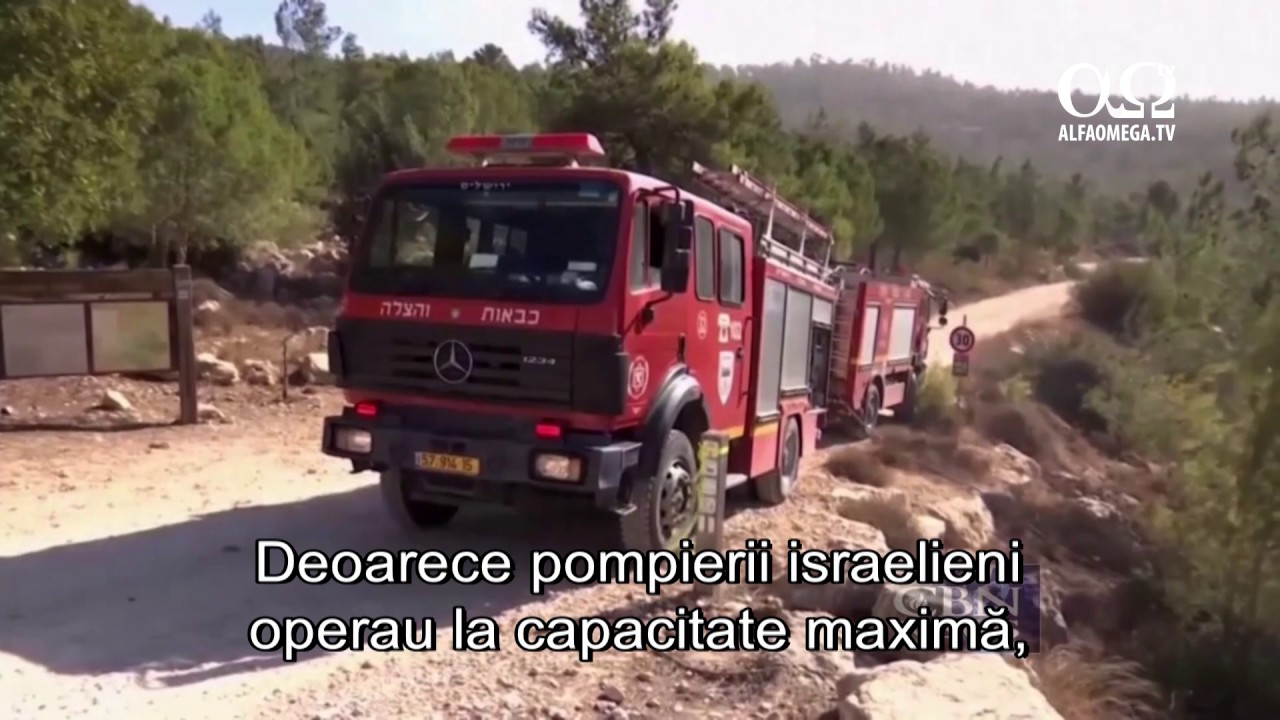 Incendii grave in Israel, provocate de adversari. Organizatii si lucrari crestine sar in ajutor