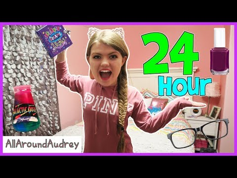 24 Hours Overnight In My Sisters Bedroom / AllAroundAudrey