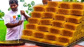 Home Made Mysore Pak Recipe | Quick & Easy Mysore Pak Recipe | Andhra Sweets