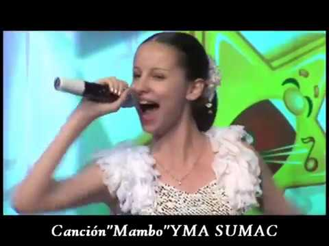 Chica rusa canta como YMA SUMAC / noviembre 2016