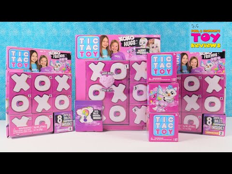 Tic Tac Toy XOXO Friends & Hugs Blind Box Toy Opening Review | PSToyReviews