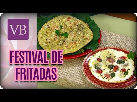 Festival de Fritadas Low Carb - Você Bonita (03/08/17)