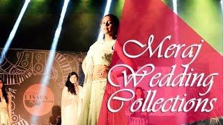 meraj wedding collections   bmsit fashion show team   utsaha 2016