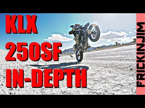 KLX250SF In-Depth Review