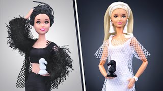 Black and White Challenge! Everything in One Color for Barbie