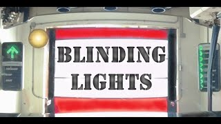 Blinding Lights - A song by The Weeknd - 3D Car Wash Jukebox - VR180