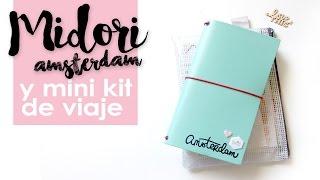 Midori: kit de viaje y creación del cuaderno interior