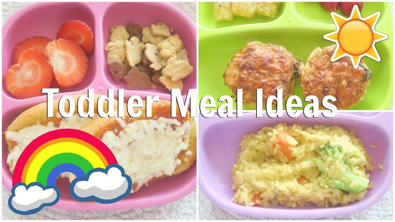 Healthy And Easy Meal Ideas For Toddlers