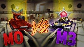 Tanki Online - M0 vs M3 Tests #1