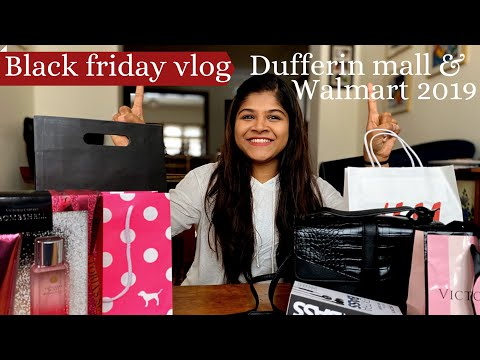BLACK FRIDAY SHOPPING IN TORONTO| DUFFERIN MALL| WALMART BLACK FRIDAY 2019| JOURNEY MATTERS