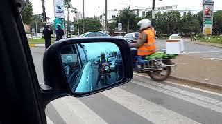 Traffic Police indifferent as Boda Boda disregard traffic rules.