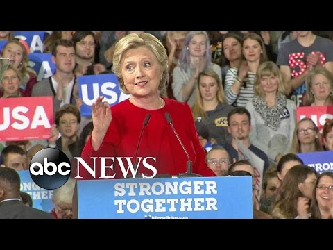 Hillary Clinton Tries to Shift Campaign Tone