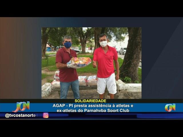 AGAP presta assistência a jogadores e ex-atletas do Parnahyba Sport Club