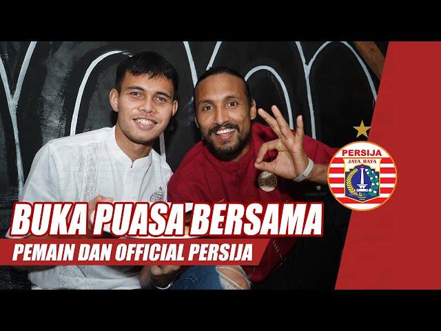 Buka Bersama Para Pemain dan Official Persija Jakarta | Presented by Apparel Juara