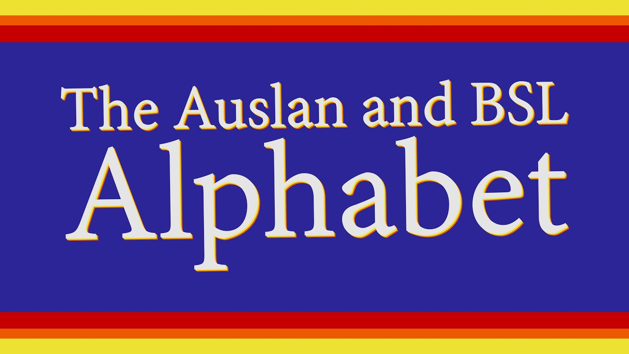 The Auslan and BSL Alphabet for Adult Learners | Jack Hartmann | Learn British Sign Language