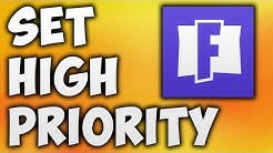 How to Set Fortnite Priority to High - Fix Access Denied [Increase FPS & Performance]