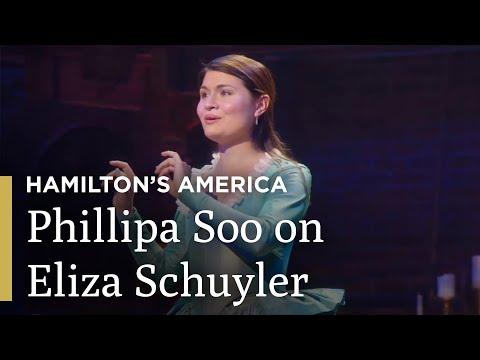 Phillipa Soo on Eliza Schulyer | Hamilton's America