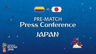 Fifa world cup™ 2018: colombia - japan: japan - pre-match press conference