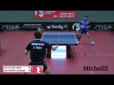 Jakub Dyjas Vs. Soumyajit Ghosh (Challenger Series June 12th 2017 Group Match)