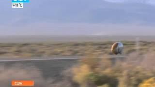 Рекорд скорости: 134 км/ч на велосипеде(Рекорд скорости: 134 км/ч на велосипеде Выпуск от 19.09.2013 Новый рекорд скорости на велосипеде удалось установи..., 2013-09-19T09:09:02.000Z)
