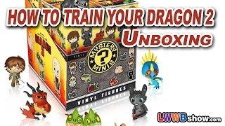 How to Train Your Dragon 2 Rare Toothless Mystery Minis Toys Blind Box Unboxing Ep 7