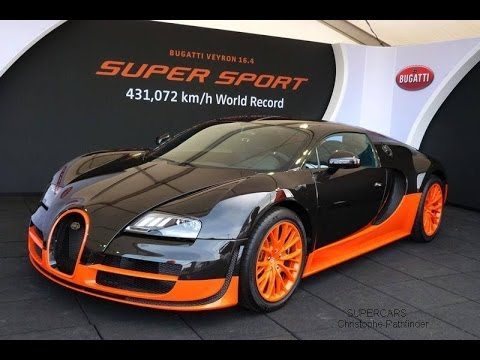 351 km/h (219 mph) Bugatti Veyron Vitesse on unlimited