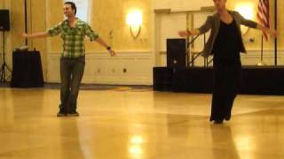 Swan line dance by Daniel Trepat (Feb. 2011) - taught at Boston Showdown 2011