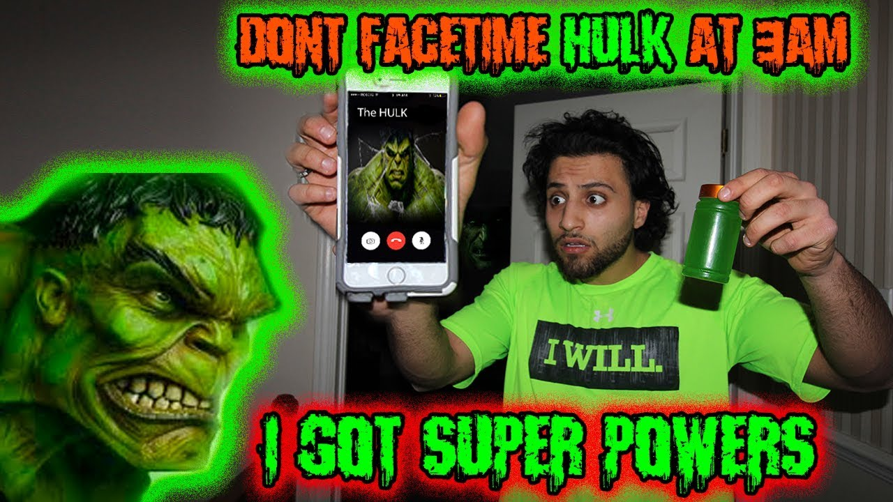 DO NOT FACETIME CALL HULK AT 3AM!! THINGS GOT OUT OF ...