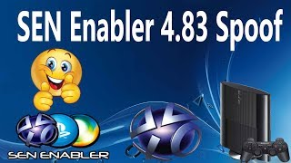How To Go Online With SEN Enabler v6 CEX And  DEX 4.83 Spoof  Jailbroken PS3 ONLY