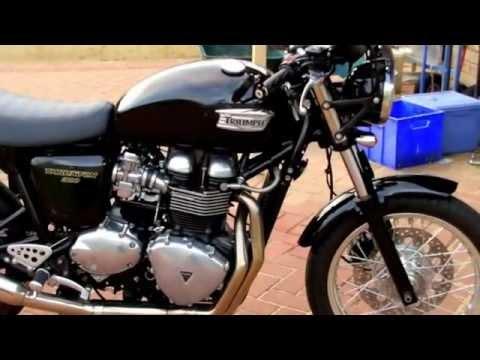 Early 2010 Triumph Thruxton  YouTube