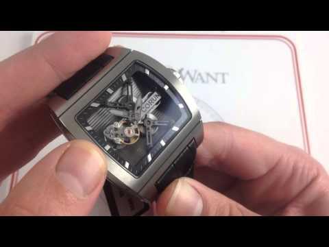 Corum Ti-Bridge Tourbillon Luxury Watch Review