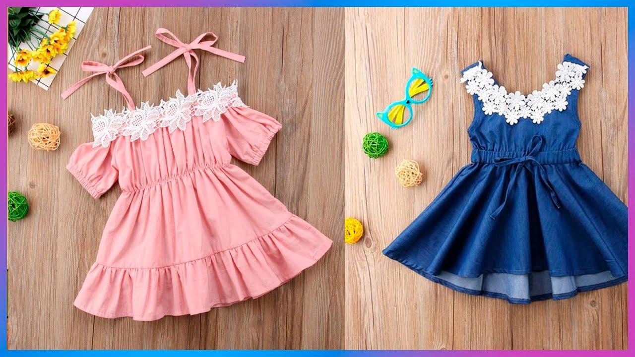 Aprender a coser vestido sencillo para niñas