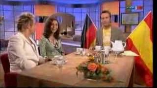 Uwe Kröger und Pia Douwes bei Hier ab Vier Ib