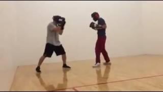 Hmong fight boxing X vs NSJK rd 1