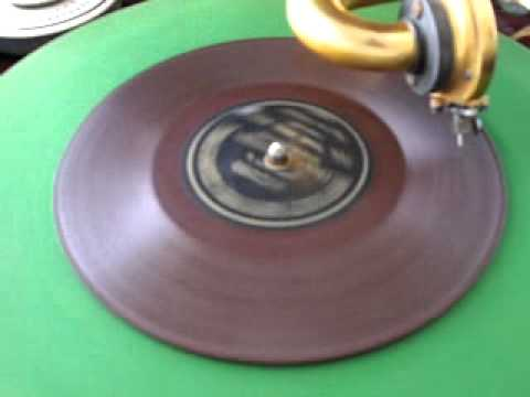 Berliner Gramophone Record  'Fol The Rol Rol' by Burt Shepard