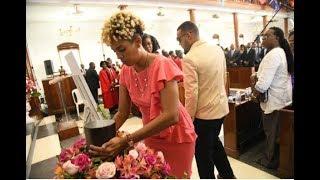 WATCH: Hundreds bid farewell to Dorraine Samuels