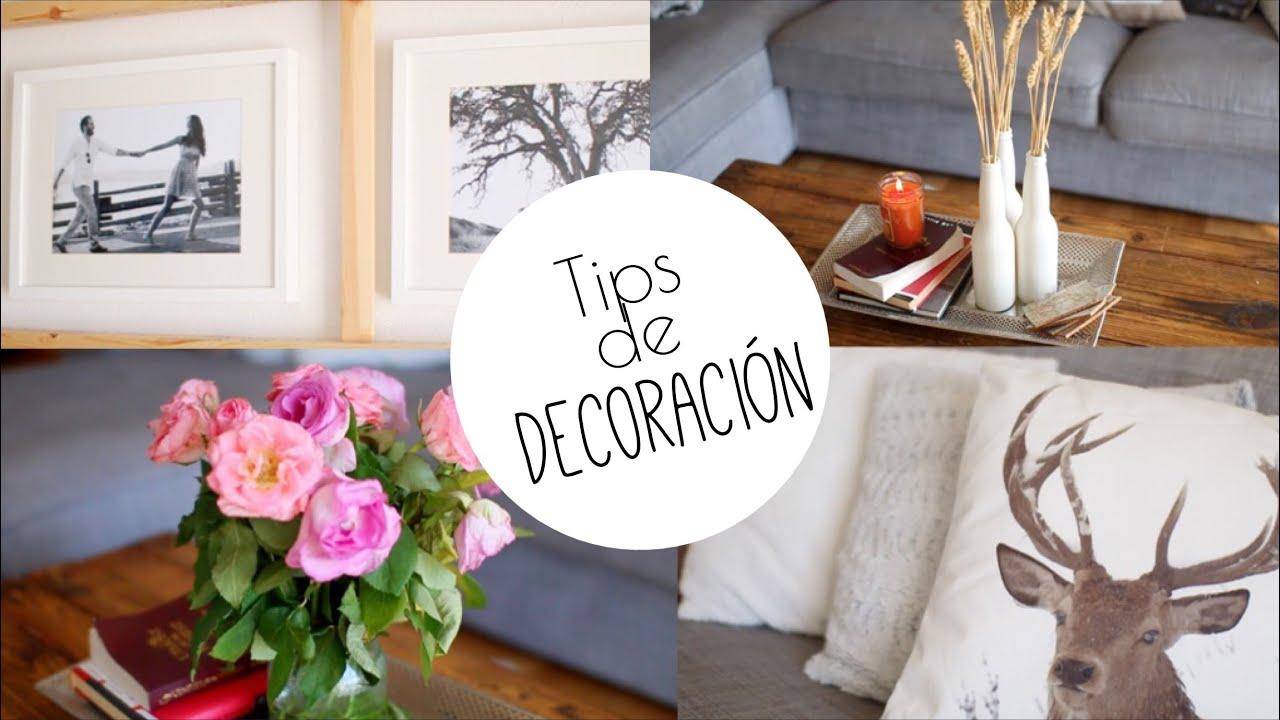 De verano a oto o invierno tips de decoraci n diy - Tips de decoracion ...