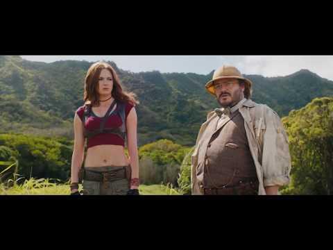 Jumanji: Welcome to the Jungle - Trailer   Karen Gillan, Dwayne Johnson, Missi Pyle