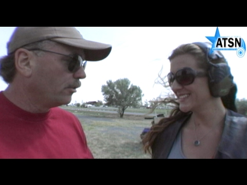 Andy Duffy Teaches Sporting Clays Techniques to ATSN TV Field Correspondent Gretchen Martin