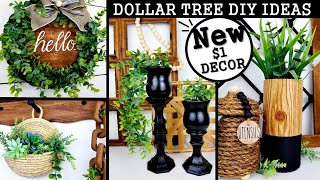NEW DOLLAR TREE DIY'S | MODERN HOME DECOR IDEAS 2020 | $1 HIGH END DIY'S