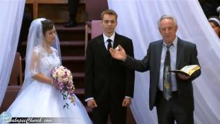 Бракосочетание - Пётр Лях & Карина Куловерова
