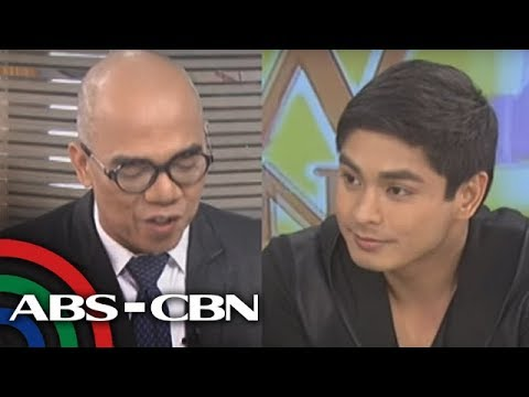 Coco Martin answers questions from Kapamilya stars
