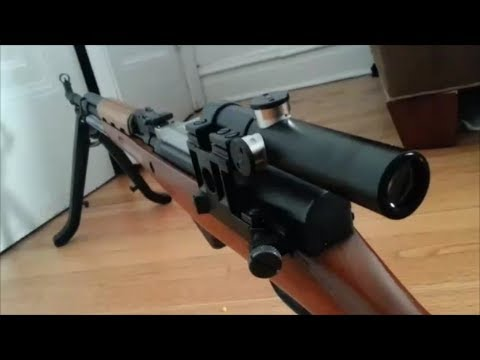 Firefield Pu Scope For Sks Dmr Set Up Youtube
