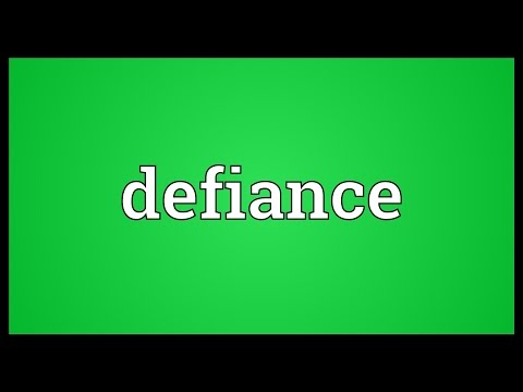 Defiance Meaning