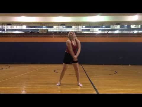 Conant High School Poms Tryout 2015-2016