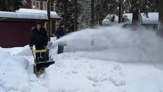 Снігоприбирач HUTER SGC 4000