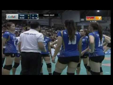 Thailand - Kazakhstan [Full Match] AVC Championships 13-09-2013
