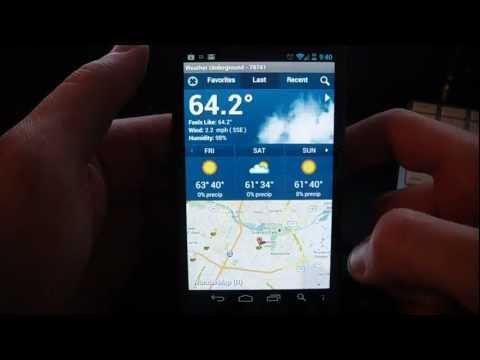 Weather Underground - Best Weather App?