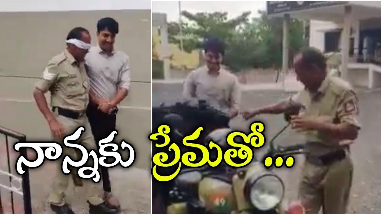 నాన్నకు ప్రేమతో ll son gift bullet bike ll emotional video ll top telugu media