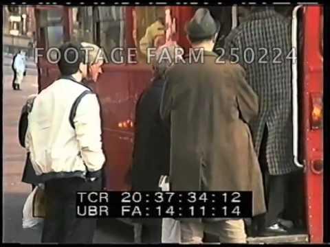 1980s London Transport Buses 250224-03 | Footage Farm
